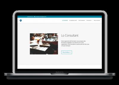 Création de site internet, Webdesign – Lo Consultant