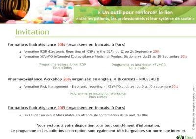 Campagne digitale - newsletter - EveDrug
