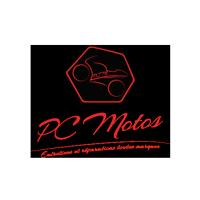 Création de logo et d'identité visuelle pour PC Motos - Agence de publicité, graphiste France