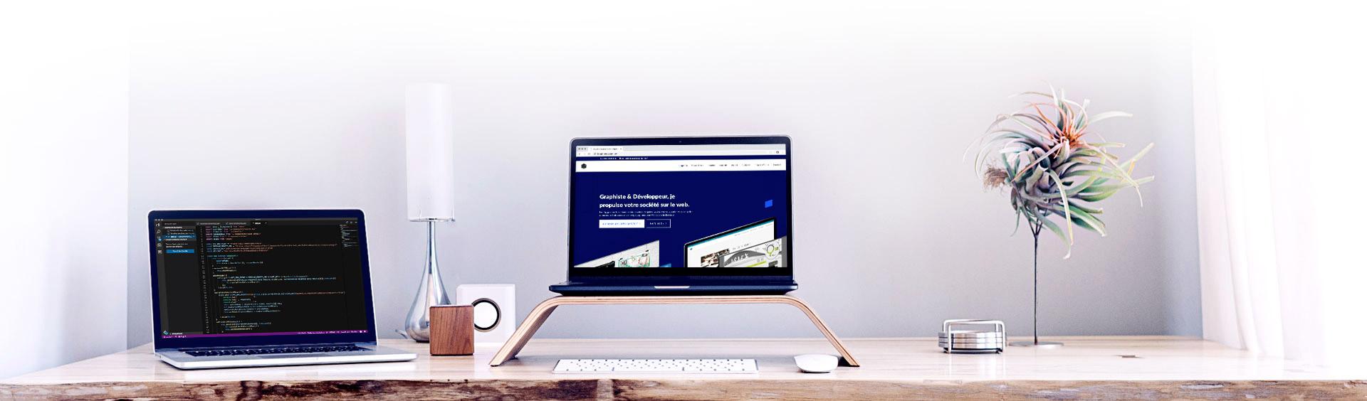 Création de site internet - Webdesign - Développeur Web