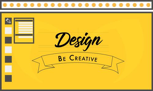 Graphiste, Webdesigner, Création de logo, identité visuelle représentée par une illustration